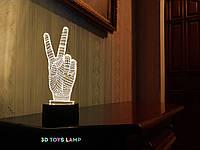 "3D светильник ""Привет"" 3DTOYSLAMP, фото 1"