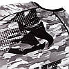 Рашгард Venum Tecmo Rashguard Long Sleeves Grey, фото 3