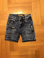 Джинсовые шорты для мальчика оптом, Grace , 116-146 рр