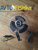 Автомобільний вентилятор Еlegant 24V 6″