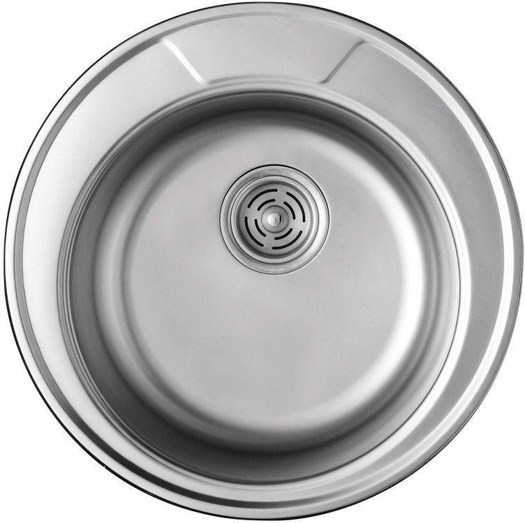 Мойка кухонная врезная 490х180 Cristal