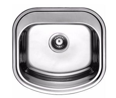 Мойка кухонная врезная 490х470 Cristal