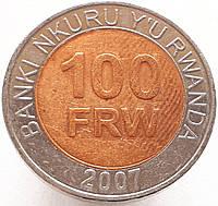 Руанда 100 франков 2007