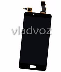 Дисплей модуль екран з сенсором для заміни на Meizu U10 (U680H) LCD чорний