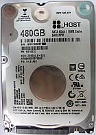 HDD 480GB 5400 SATA3 2.5 Hitachi HTS545050B7E660 WXH1A86NF79E