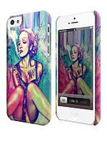 Чехол  для iPhone 5C Swag Мадонна