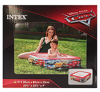 Детский надувной бассейн «Тачки» | «Intex»