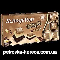 Шоколад Schogetten Trilogia Coffee 100г