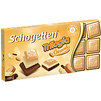 Шоколад Schogetten Trilogia Caramel 100г