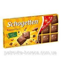 Шоколад Schogetten Roasted Corn (Соленый попкорн) 100г