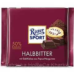 "Шоколад Черный Ritter Sport ""DARK CHOCOLATE 50% kakao"", 100г (1ящ/12шт)"