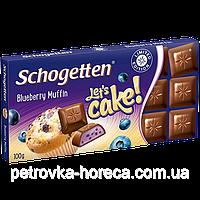 Шоколад Schogetten Blueberry Muffin (Черничный Маффин) 100г