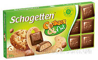 Шоколад Schogеtten Cookies Nut (Печенье с орехом) 100гр