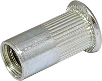 RSr-Гайка клепальная рыфл. М 3/0.5-2.0 зм.потай D6 (500шт/уп)