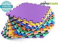 Детский мягкий пол. Модульное покрытие коврики-пазли ''EVA'' (50*50*1)