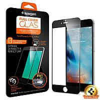 Защитное стекло Spigen для iPhone 6S Plus / 6 Plus, Black