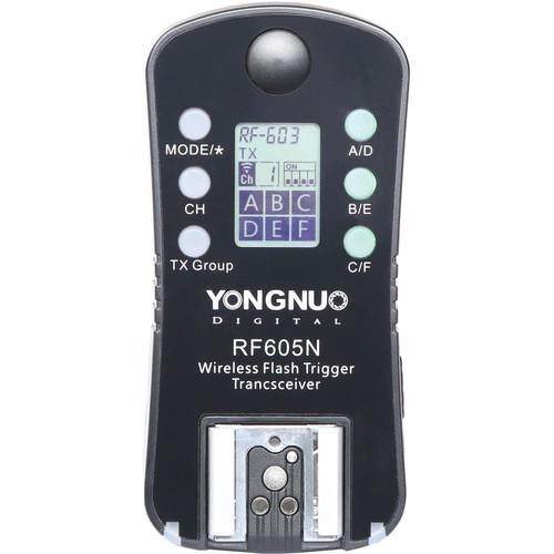 Радиосинхронизатор для вспышки Yongnuo RF-605 N (RF-605 N)