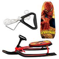 Снегокат детский Человек-паук ( Spider-Man)
