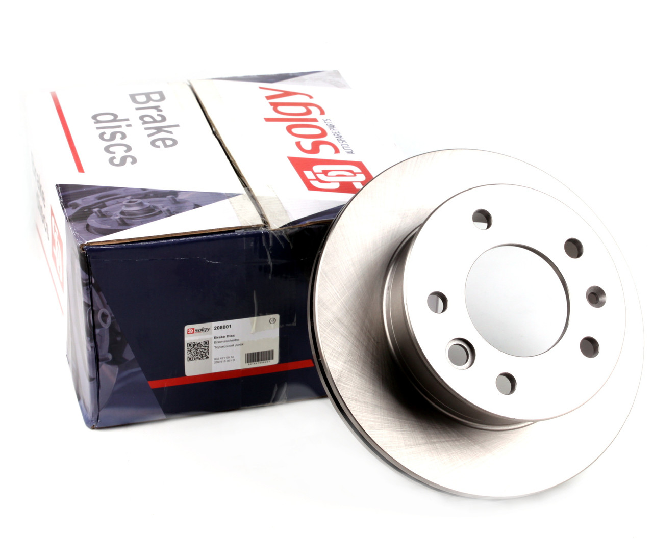 Диск тормозной передний MB Sprinter 208-416 96- (276x22) Solgy