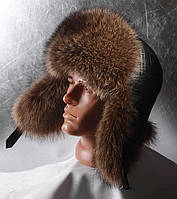 Мужская меховая шапка Ушанка Бой Полоскун