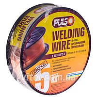 Проволока омедненная для сварочных работ PULSO (W-5008), диаметр 0.8 мм, вес 5 кг, сварочная проволока, пролока для сварки