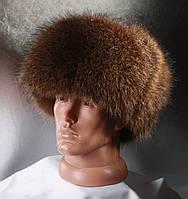Мужская меховая шапка Ушанка из Полоскуна