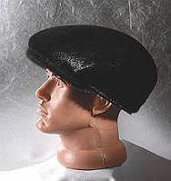 Мужская меховая кепка Бандитка из Нерпы