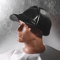 Мужская меховая шапка Жокейка