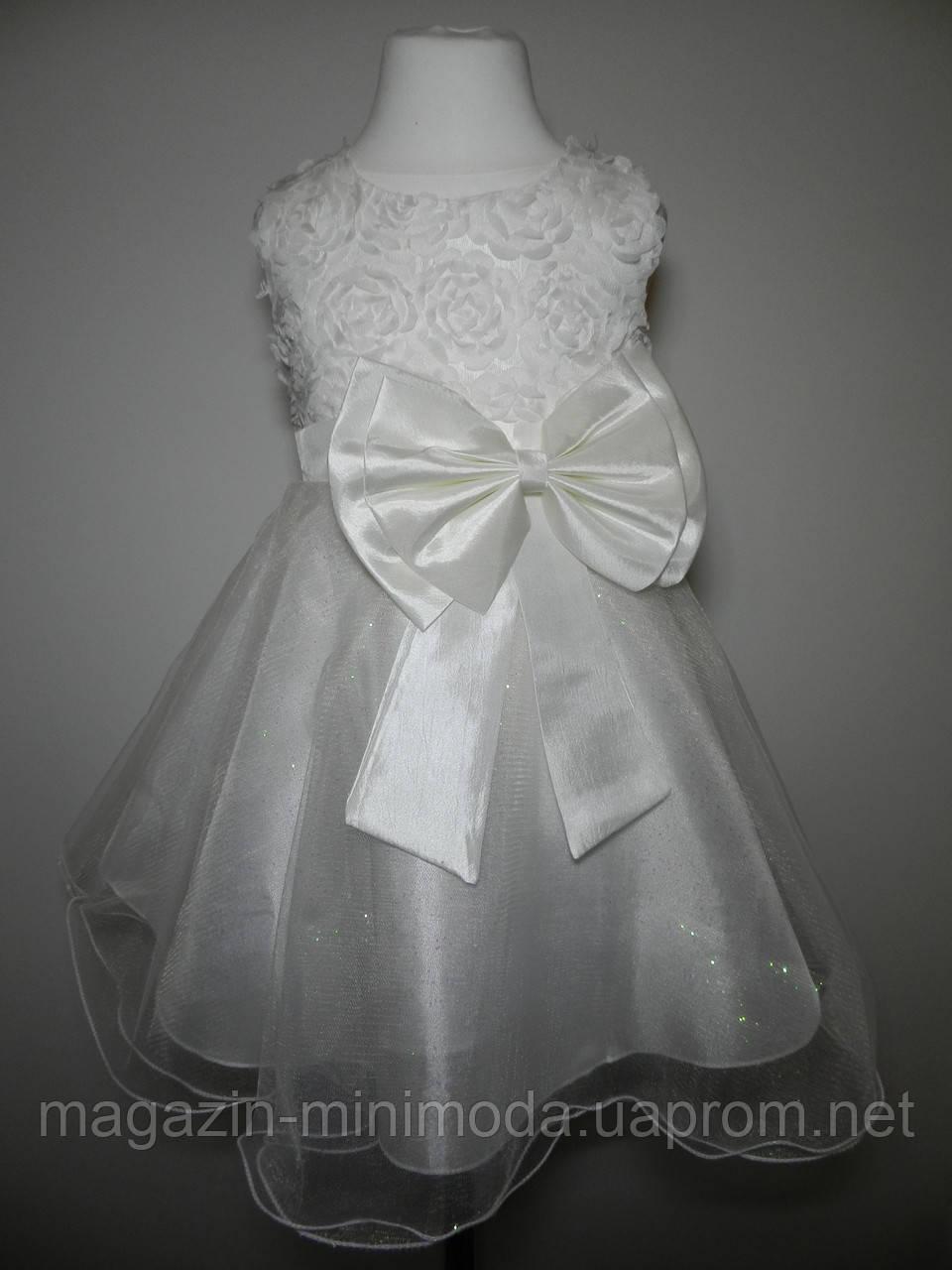 f50dd4ac0cb Белое платье для девочки
