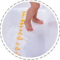 Детский антискользящий коврик для ванны Kinderenok Utti, ПВХ