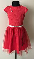 Нарядное платье для девочки с вышивкой 5-10 лет, фото 1