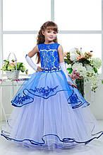 Праздничное изумительное детское вечернее платье на бал на 5-10 лет