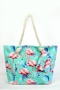 Пляжная сумка Дубай бирюзовая