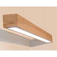 """Светодиодный линейный светильник в деревянном корпусе """"VIGA"""" 30W 2850Lm VL-LED 30W WOOD"""