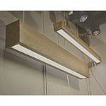"""Світлодіодний світильник лінійний в дерев'яному корпусі """"VIGA"""" 30W 2850Lm VL-LED 30W WOOD, фото 3"""
