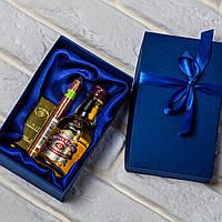 "Мужской подарочный набор""Миллиардер"" (Billionaire). Подарок мужчине (виски, сигара, зажигалка)"