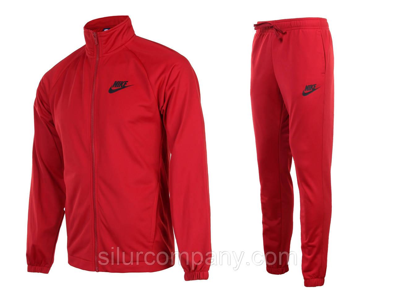 30ee7783262c Красный спортивный костюм мужской Найк эластик - Интернет магазин