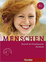 Menschen A1 Kursbuch mit DVD-ROM (учебник по немецкому языку с упражнениями на DVD)