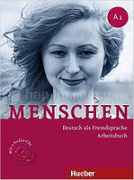 Menschen A1 Arbeitsbuch  mit CDs (тетрадь по немецкому языку с CD диском)