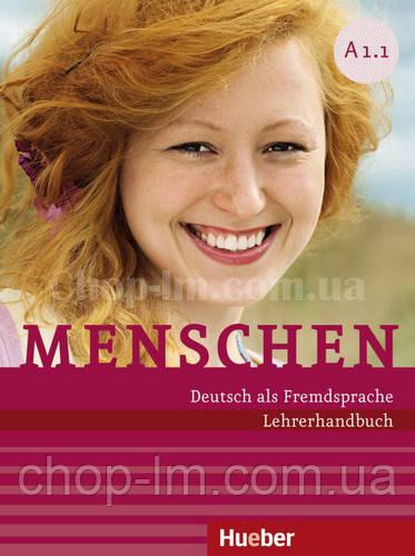 Menschen A1/1 Lehrerhandbuch (книга для учителя по немецкому языку, уровень А1)