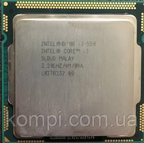 Процессор Intel Core i3 550 3.2GHz  S1156