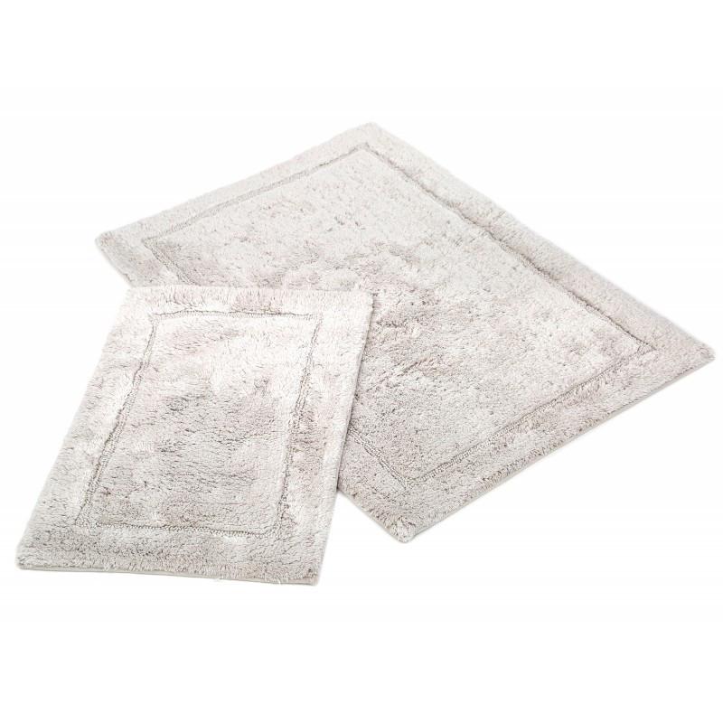 Набор ковриков Irya - Gloria gri серый  60*90+40*60 см