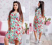 Платье S-2338 (42, 44, 46, 48) — купить Платья оптом и в розницу в одессе 7км