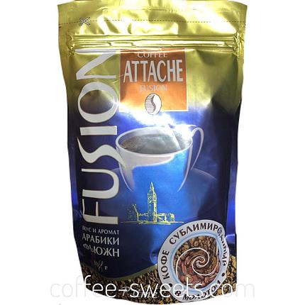 Кофе растворимый Attache Fusion 108г, фото 2
