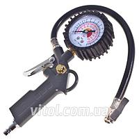 Пистолет для подкачки колес легковых авто Alloid (ПК-001), инструмент для накачивания колес, насос для колес