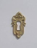 S14-11-151-G Декоративная накладка под мебельный ключ, золото, фото 1