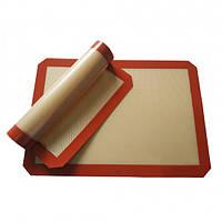 Силиконовый коврик для выпечки 40х30 Это нужная кухонная принадлежность Оригинальный аксессуар Код: КГ4362