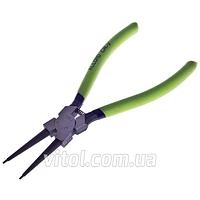 Щипцы для стопорных колец Alloid (СК-6044А), сжим прямой, длина 175 мм, инструмент для съема стопорных колец, съемник стопорный колец