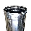 Труба дымоходная Ø130 0,5м 1мм из нержавеющей стали, фото 2