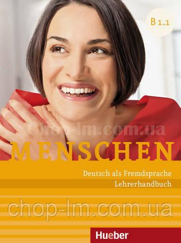 Menschen B1/1 Lehrerhandbuch (книга для учителя по немецкому языку, уровень B1)